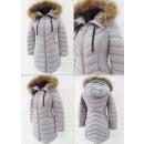 Großhandel Mäntel & Jacken: E27 Winter Damenjacke, Schneewittchen, Grau