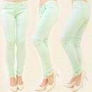 ingrosso Jeans: PANTALONE B16357  ESTATE JEANS, colori pistacchio M