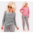 4350 Frauen eleganter Pullover, Webart ...