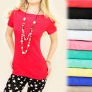 ingrosso T-shirts & Tops: D2625 CLASSIC,  UNIVERSALE TOP, scollo a barchetta