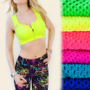 wholesale Lingerie & Underwear: 4057 BRA for  FITNESS, boxer, SLIDER, Neon colors