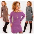 Großhandel Fashion & Accessoires: D1480 Kaschmirkleid + warmer Schal, ...