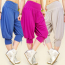 3838 SHORTS PANTS,  LOOSE HAREM, SHORTS MIX