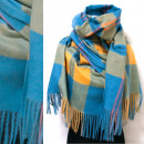 wholesale Scarves & Shawls: Winter Scarf, Shawl, Plaid Pattern, A1852