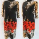 Großhandel Kleider: D4052 Kleid, Made in Poland, Plus Size 44-52