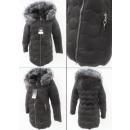 wholesale Coats & Jackets: E13 Winter Jacket, Aztec Quilting, Black