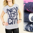 wholesale Shirts & Blouses: K286 COTTON  BLOUSE, TOP, NEW YORK CITY LIVE