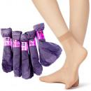 wholesale Fashion & Apparel: Thin Women Socks, Knee-highs, Graphite, 35-42