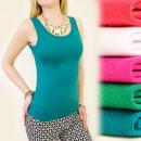 Großhandel Shirts & Tops: C11166 CLASSIC  TOP, Bluse, Riemen MIX