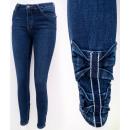 Großhandel Jeanswear: B16795 Charming Frauen Jeans, Hosen. Marinebögen