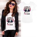 K578 T-Shirt coton, haut, J'aime la musique, b