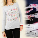 ingrosso T-shirts & Tops: K206 camicetta,  TOP, STAMPA FIORI Just Be MIX FRED