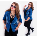 Großhandel Fashion & Accessoires: BI702 Charming, Frühlingsfrauenjacke , Jeans