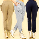 3801 LOOSE LADIES PANTS, BAGGY, MIX