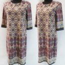Großhandel Kleider: D4048 Kleid, Made in Poland, Plus Size 44-52