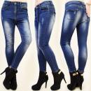 B16439 fit jeans, broeken, STIKKEN