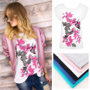 wholesale Fashion & Apparel: B18241 Blouse,  Top, coton , Plus Size, Hummingbird