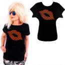 groothandel Kleding & Fashion: K562 Katoenen T-Shirt , Top, Cat's Kiss Black