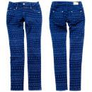 Damen Jeans Hosen, 25-30, Indisches Design, B16881