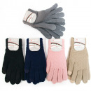wholesale Gloves: Warm Wool Gloves For Women, Classic, C1988
