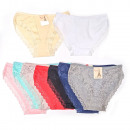 wholesale Fashion & Apparel: Women Panties with Lace, cotton , M-XL, 6292