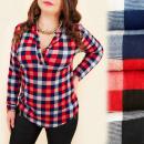 Großhandel Hemden & Blusen: C11400 Lioose  Bluse, schöner Grill, Mega Standing