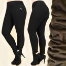 grossiste Articles sous Licence: FL588 élégant,  pantalons chauds à fourrure, grande
