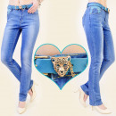wholesale Jeanswear: B16467 glamorous  JEANS, WITH BELT IN SET