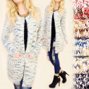 wholesale Pullover & Sweatshirts: C11373 Patterned  Sweater. Cardigan, Hairy Suspende