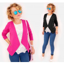 wholesale Coats & Jackets: C24235 Elegant loose Jacket, Cardigan with ...