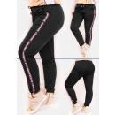 mayorista Deporte y ocio: Pantalón deportivo FL667 Warm Women, talla grande,