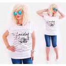 K535 pamut blúz, női T-Shirt , Love London