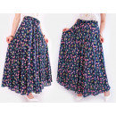 wholesale Skirts: C17502 Long and Wide Skirt, Summer Pattern