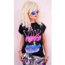 ingrosso Ingrosso Abbigliamento & Accessori: K609 Camicia in cotone da donna, Top, fenicottero