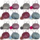 Großhandel sonstige Taschen: Sachet mit Glitter und Pompon, Little Bunny A1894
