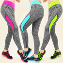 3925 Leggings,  trousers FITNESS, Neon MIX