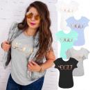grossiste Vetement et accessoires: N047 Blouse en coton, Vogue australien doré
