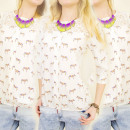 Großhandel Hemden & Blusen: BI342 schönes Hemd, Bluse, Spitze NECKLINE
