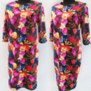 Großhandel Kleider: D4050 Kleid, Made in Poland, Plus Size 44-52