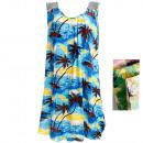Großhandel Fashion & Accessoires: Sommerkleid mit Mesh, Handflächen, M-2XL, 6532