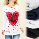 K265 blogging  BLOUSE, coton, FULL OF HEARTS