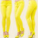 wholesale Jeanswear: B16355 SUMMER  PANTS JEANS, JUICY MELON MIX
