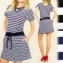 BI362 FASHIONABLE  DRESS, TUNIC, INTERCUT VZ BACK