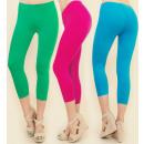 Großhandel Hosen: Damengamaschen, 3/4 Länge, Farben M-2XL, 5