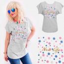 ingrosso Ingrosso Abbigliamento & Accessori: T-Shirt cotone A888, Top, New Life, Grigio
