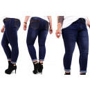 B16780 Women's Jeans, Plus Size, Belt and Jets