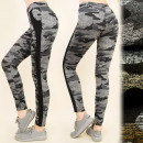 C17163 Leggings de sport, fitness, gymnastique