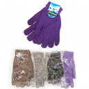 wholesale Gloves: Warm Wool Gloves For Women, Classic, C1987