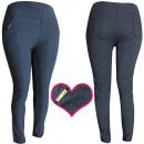 4479 pantalons pour femmes, plus la taille, modèle