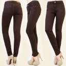grossiste Vetements en jean: PANTALON B16454 CLASSIC JEANS, CHOCOLAT BROWNIE